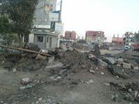 أعمال الحفر بمزلقان الصالحية لسكك الحديدية -اليوم السابع -4 -2015