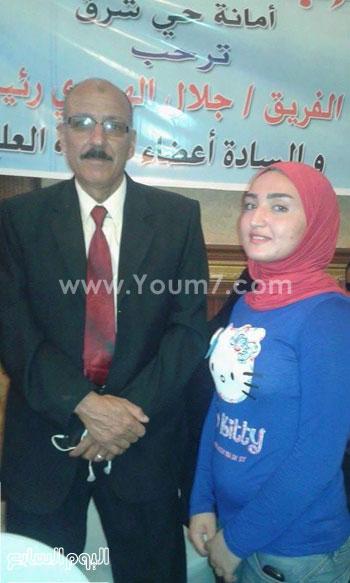 عضو الحملة مع رئيس حزب حماة الوطن -اليوم السابع -4 -2015