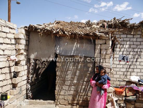 أسر بلا عائل فى قرية الشيخ فضل -اليوم السابع -4 -2015