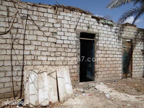 مدخل أحد المنازل -اليوم السابع -4 -2015