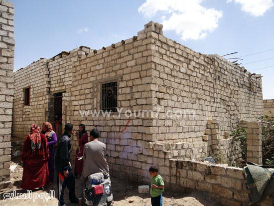 أهالى القرية  -اليوم السابع -4 -2015