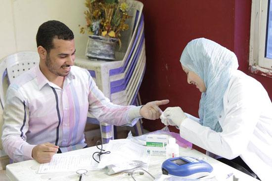 الكشف قبل التبرع بالدم -اليوم السابع -4 -2015