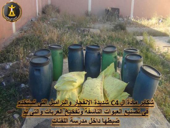 شاهد بالصور ماذ ظبط الجيش المصري في العريش بعد قتل قائد اجناد مصر