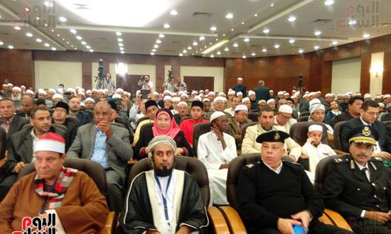 فعاليات مسابقة القرآن الكريم بحضور وزير الأوقاف فى شرم الشيخ (3)