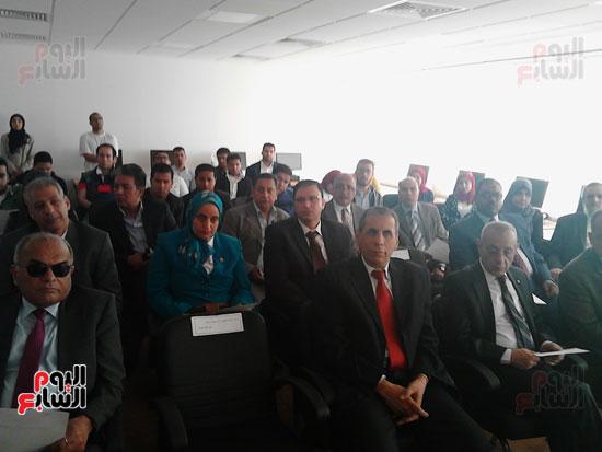 افتتاح قاعة سفارة المعرفة بجامعة بورسعيد (1)
