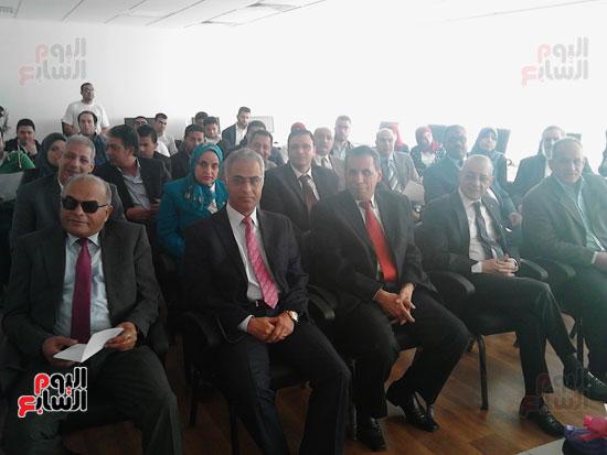 افتتاح قاعة سفارة المعرفة بجامعة بورسعيد (2)