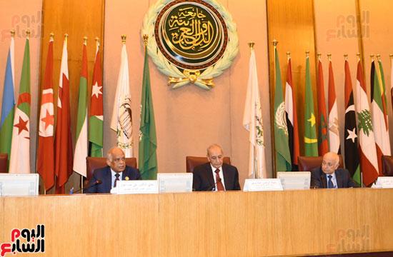 على عبد العال رئيس مجلس النواب  الجامعة العربية الاتحاد البرلمانى تهديد الامن القومى (2)