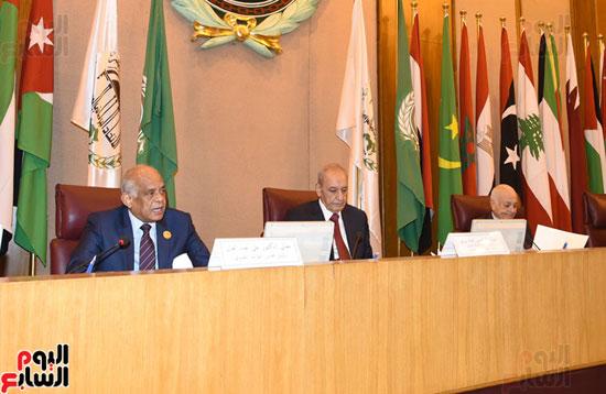 على عبد العال رئيس مجلس النواب  الجامعة العربية الاتحاد البرلمانى تهديد الامن القومى (4)
