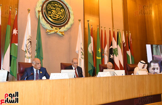 على عبد العال رئيس مجلس النواب  الجامعة العربية الاتحاد البرلمانى تهديد الامن القومى (5)