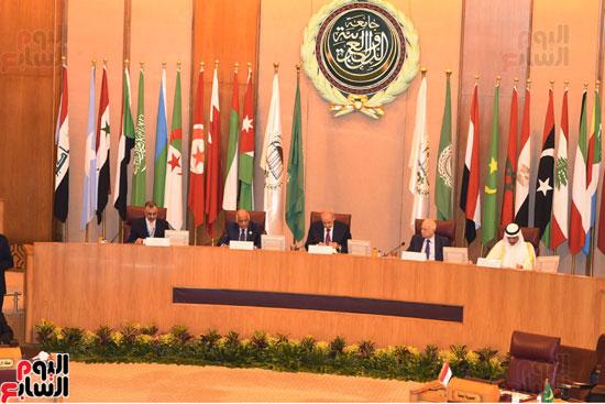 على عبد العال رئيس مجلس النواب  الجامعة العربية الاتحاد البرلمانى تهديد الامن القومى (7)