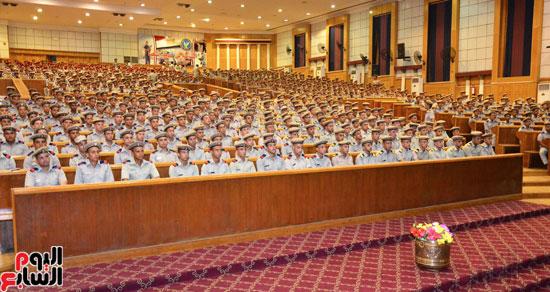 افراد الشرطة-وكيل الازهر-عباس شومان-محاضرة الاخلاق (3)