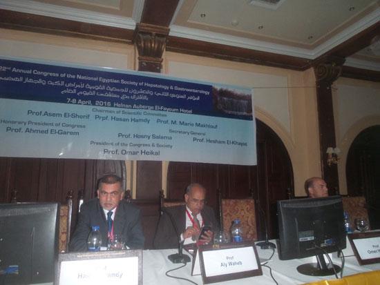 المؤتمر السنوى للجمعية المصرية لأمراض الكبد (1)