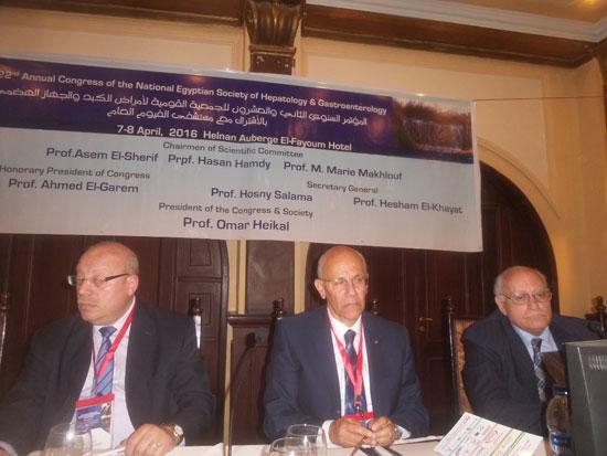 المؤتمر السنوى للجمعية المصرية لأمراض الكبد (7)