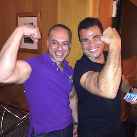 عمرو دياب وتامر مرسى