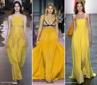 منصات الموضة.. البرتقالى والأصفر ألوان تسيطر على الربيع 42016131531399383