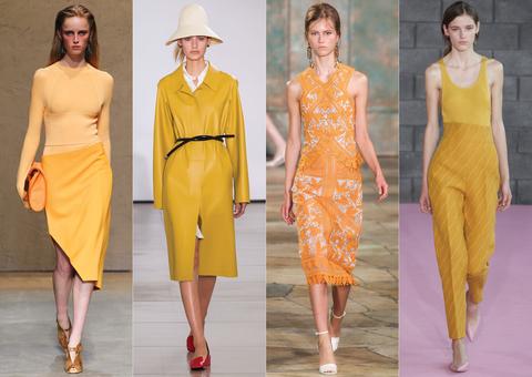 منصات الموضة.. البرتقالى والأصفر ألوان تسيطر على الربيع 42016131531399384