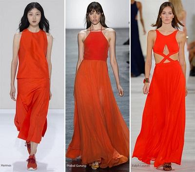 منصات الموضة.. البرتقالى والأصفر ألوان تسيطر على الربيع 42016131531399395