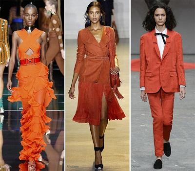 منصات الموضة.. البرتقالى والأصفر ألوان تسيطر على الربيع 42016131531399406
