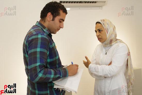 معرض خارج الاطار، العلاقات الانسانية، سيدة خليل، محمد عبلة (4)