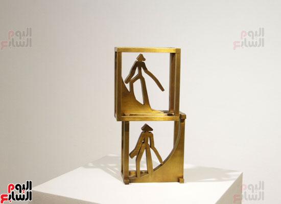 معرض خارج الاطار، العلاقات الانسانية، سيدة خليل، محمد عبلة (5)