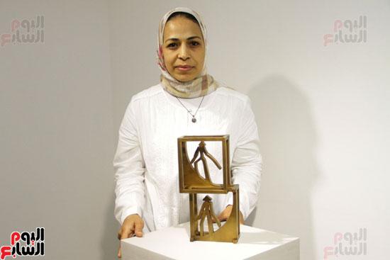 معرض خارج الاطار، العلاقات الانسانية، سيدة خليل، محمد عبلة (12)