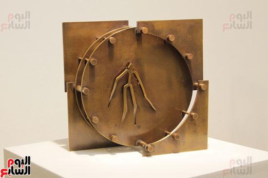 معرض خارج الاطار، العلاقات الانسانية، سيدة خليل، محمد عبلة (14)