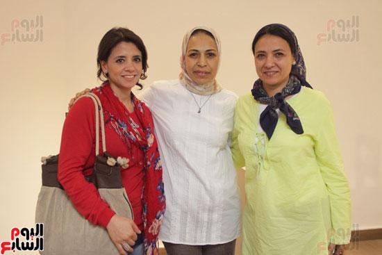 معرض خارج الاطار، العلاقات الانسانية، سيدة خليل، محمد عبلة (17)