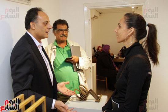 معرض خارج الاطار، العلاقات الانسانية، سيدة خليل، محمد عبلة (20)