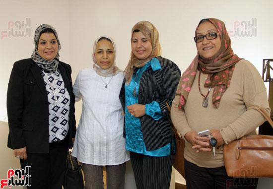معرض خارج الاطار، العلاقات الانسانية، سيدة خليل، محمد عبلة (21)