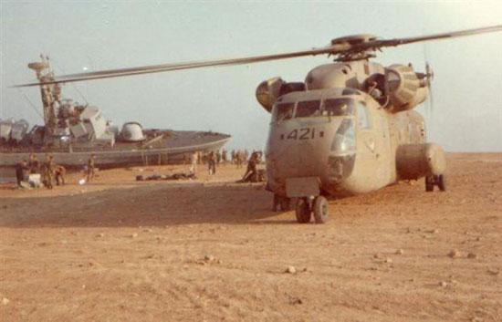 سفينة الصواريخ الإسرائيلية على الشواطئ السعودية عام 1981 (2)