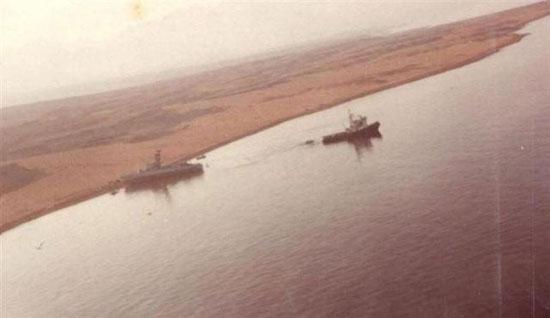 سفينة الصواريخ الإسرائيلية على الشواطئ السعودية عام 1981 (3)