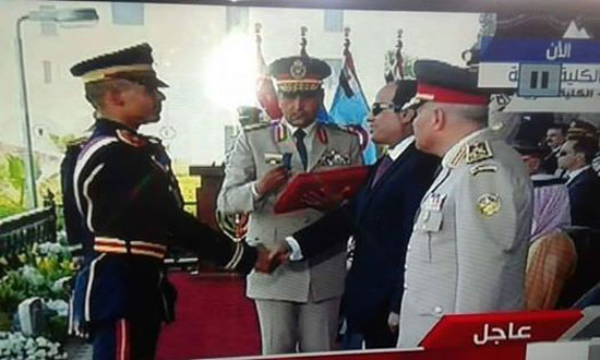 جنازة عسكرية للشهيد إسلام عبد الحميد  (1)