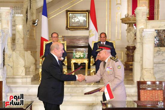الاتفاقيات بين فرنسا ومصر بحضور السيسى وهولاند (3)