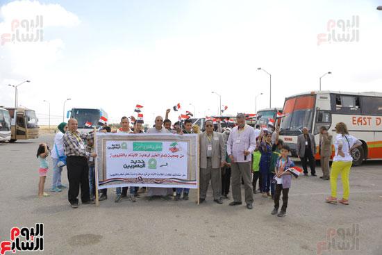 1-3حديد المصريينتستكمل احتفالات يوم اليتيم برحلة لـ100طفل من القليوبية (5)