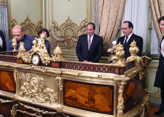420161964436724جولة-الرئيسان-السيسى-وهولاند-فى-قصر-عابدين-(2)