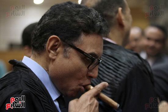 محاكمه علاء وجمال قضيه البورصه (21)