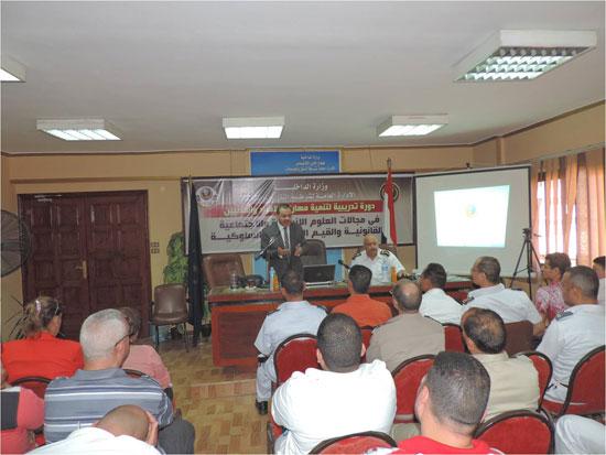 مؤتمر وزارة الداخلية لتدريب أمناء الشرطة (3)