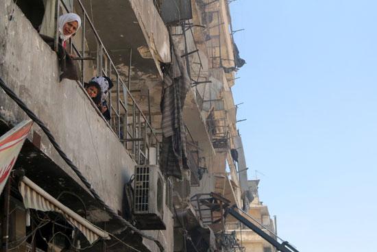 مقتل وإصابة أكثر من 50 شخصًا فى سوريا (1)