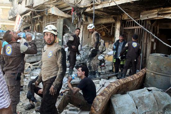 مقتل وإصابة أكثر من 50 شخصًا فى سوريا (2)