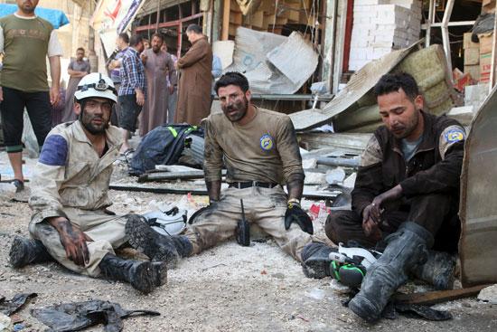 مقتل وإصابة أكثر من 50 شخصًا فى سوريا (3)
