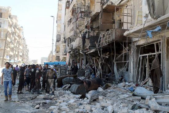 مقتل وإصابة أكثر من 50 شخصًا فى سوريا (5)