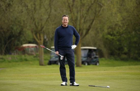 اوباما ، ديفيد كاميرون ، بريطانيا ، امريكا ، الاتحاد الاوروبى ، جولف ، مباراة جولف (9)