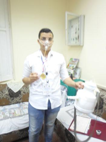 ابتكر الطالب أحمد محمد عبد الله خليفة بالصف (2)