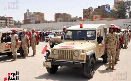تحركات-القوات-المسلحة-لتأمين-الأهداف-الحيوية-فى-25-إبريل-(2)
