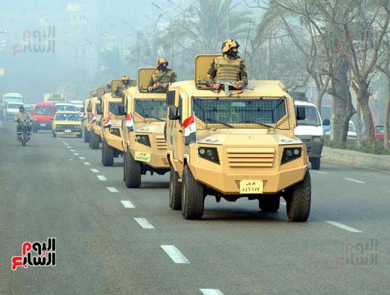 تحركات-القوات-المسلحة-لتأمين-الأهداف-الحيوية-فى-25-إبريل-(4)