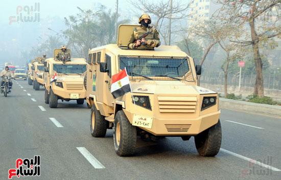 تحركات-القوات-المسلحة-لتأمين-الأهداف-الحيوية-فى-25-إبريل-(6)