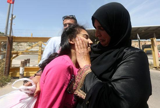 الإفراج عن أصغر أسيرة فلسطينية فى سجون الاحتلال الإسرائيلى (10)