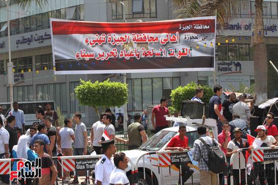 احتفالات المواطنين بذكرى تحرير سيناء (2)