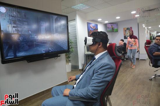 اليوم السابع، صحفيو اليوم السابع، نظارة واقع افتراضي، واقع افتراضي، Gear VR 2، سامسونج Gear VR 2 (1)