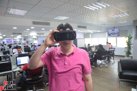 اليوم السابع، صحفيو اليوم السابع، نظارة واقع افتراضي، واقع افتراضي، Gear VR 2، سامسونج Gear VR 2 (31)